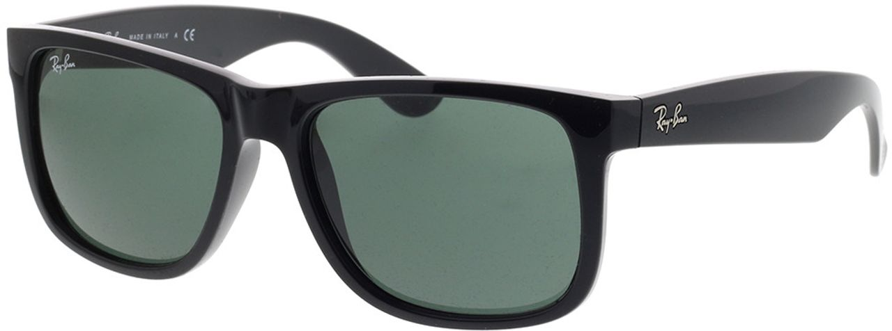 Picture of glasses model Ray-Ban Justin RB4165 601/71 54-16 in angle 330