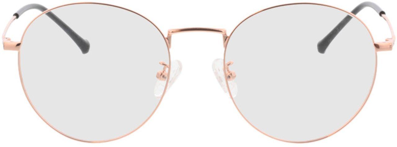 Picture of glasses model Eden-copper in angle 0