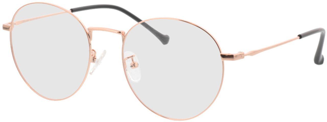 Picture of glasses model Eden-copper in angle 330
