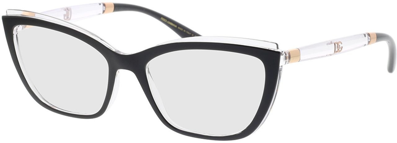 Picture of glasses model Dolce&Gabbana DG5054 675 54-17 in angle 330