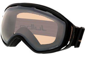 Skibrille Titan schwarz XXL