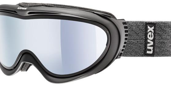 Picture of glasses model Uvex Skibrille Comanche TO Black Matt in angle 0