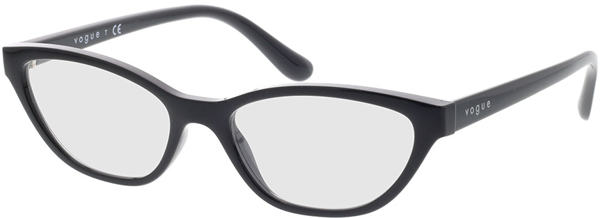 Picture of glasses model Vogue VO5309 W44 52-17 in angle 330