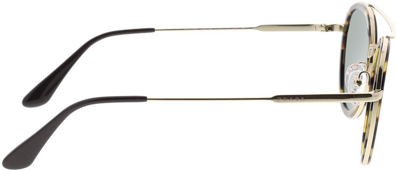 Picture of glasses model Prada PR 56XS 02A728 49-24 in angle 90