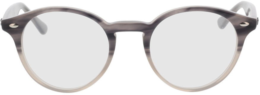 Picture of glasses model Ray-Ban RX2180V 8106 49-21 in angle 0