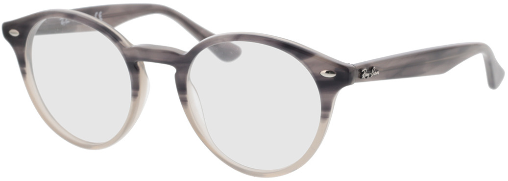 Picture of glasses model Ray-Ban RX2180V 8106 49-21 in angle 330