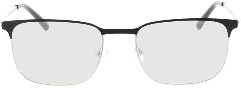 Picture of glasses model Murphy-matt silber/matt schwarz in angle 0
