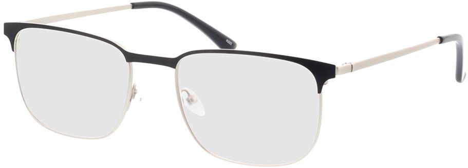Picture of glasses model Murphy-matt silber/matt schwarz in angle 330