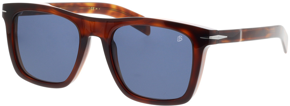 Picture of glasses model David Beckham DB 7000/S WR9 51-20 in angle 330