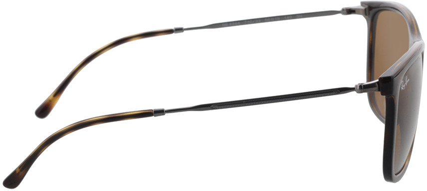 Picture of glasses model Ray-Ban RB4344 710/33 56-19 in angle 90