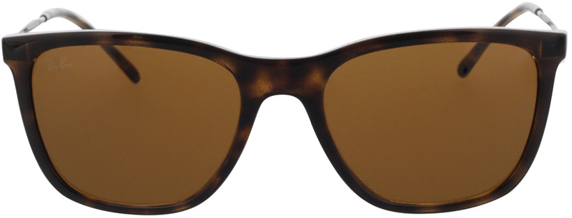 Picture of glasses model Ray-Ban RB4344 710/33 56-19 in angle 0