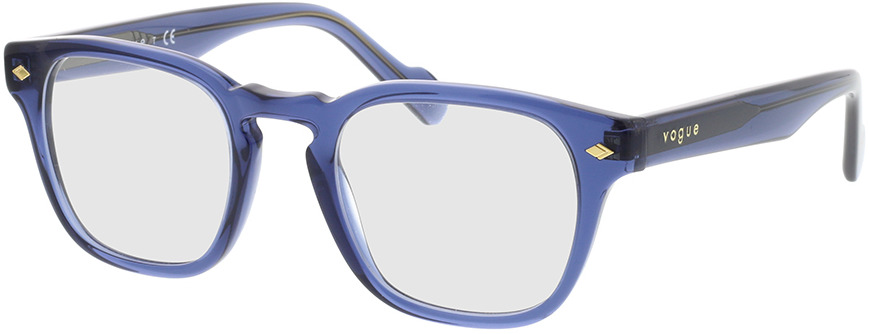 Picture of glasses model Vogue VO5331 2760 47-21 in angle 330