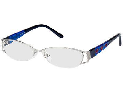 Brille Benoni-silber/blau