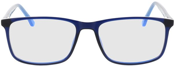 Picture of glasses model Gotland-blue in angle 0