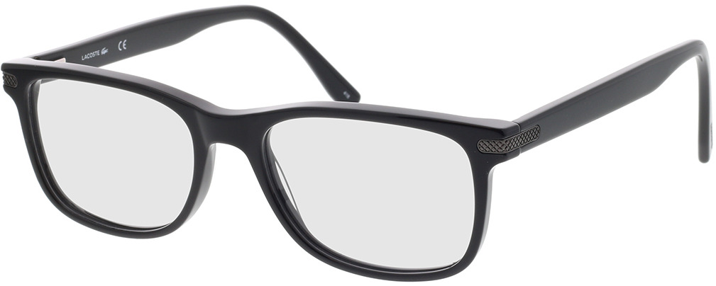 Picture of glasses model Lacoste L2841 001 55-18 in angle 330