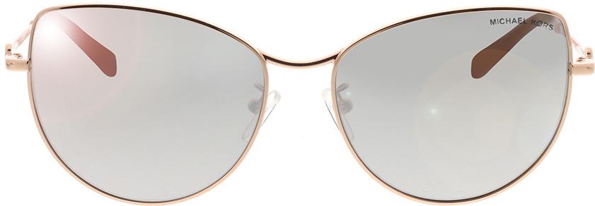 Picture of glasses model Michael Kors La Paz MK1062 11086G 58-16 in angle 0