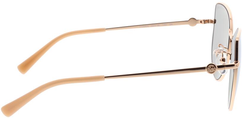 Picture of glasses model Michael Kors La Paz MK1062 11086G 58-16 in angle 90