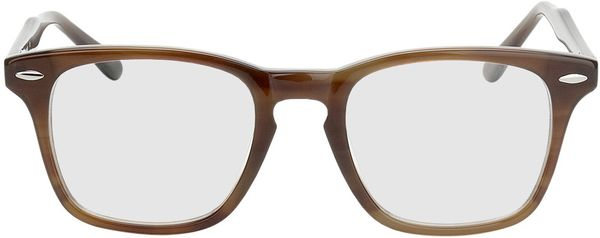 Picture of glasses model Heredia-brown in angle 0