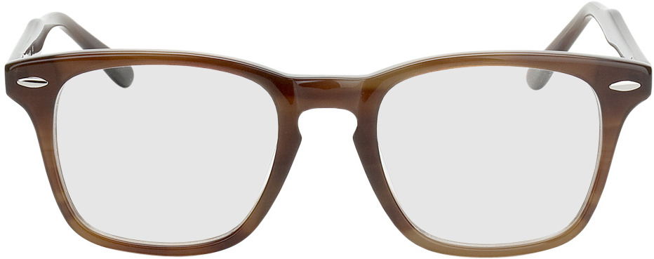 Picture of glasses model Heredia-braun in angle 0