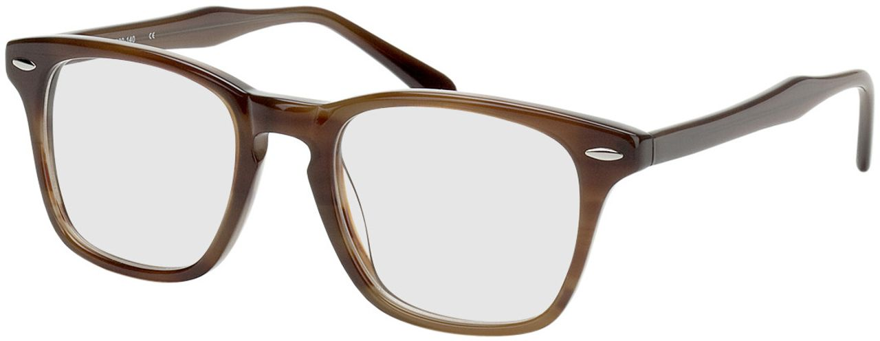 Picture of glasses model Heredia brown in angle 330