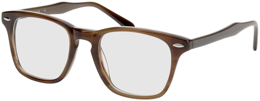 Picture of glasses model Heredia-braun in angle 330