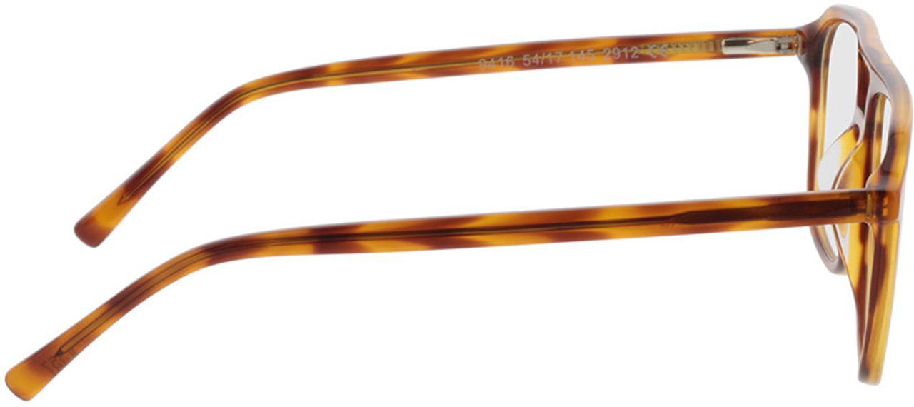 Picture of glasses model Costa-honig havana in angle 90