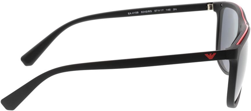Picture of glasses model Emporio Armani EA4109 50426G 57-17 in angle 90