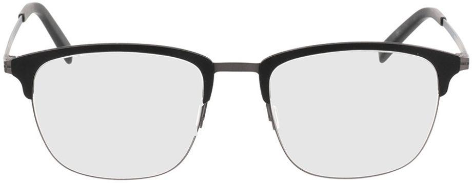 Picture of glasses model Milos-black-gun in angle 0