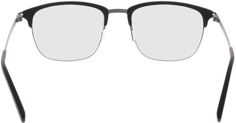 Picture of glasses model Milos-black-gun in angle 180