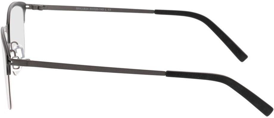 Picture of glasses model Milos-black-gun in angle 270