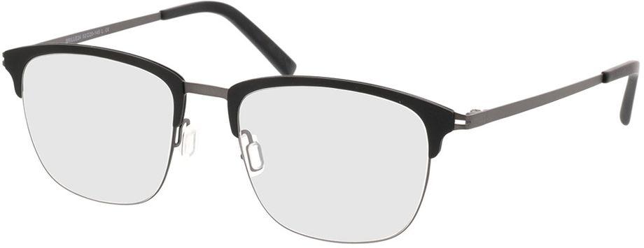 Picture of glasses model Milos-black-gun in angle 330