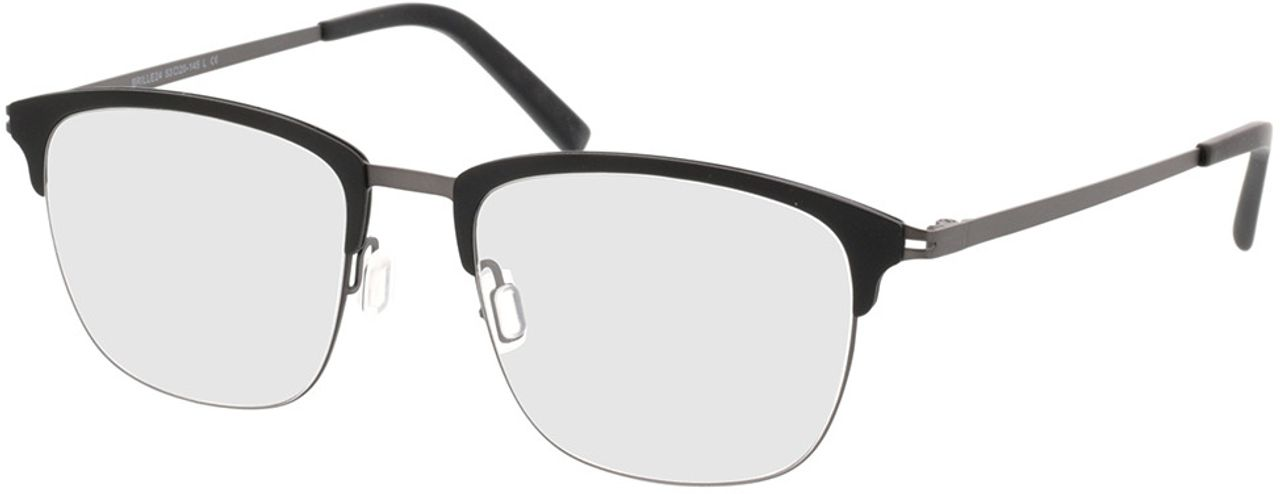 Picture of glasses model Milos-schwarz/anthrazit in angle 330