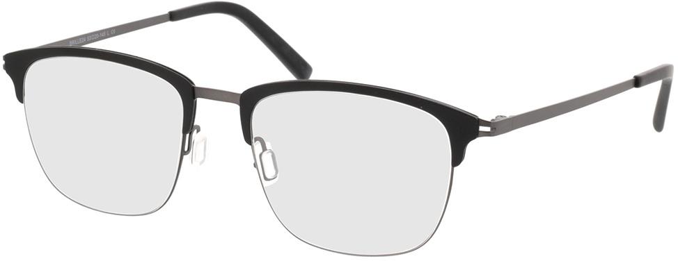 Picture of glasses model Milos Zwart/antraciet in angle 330
