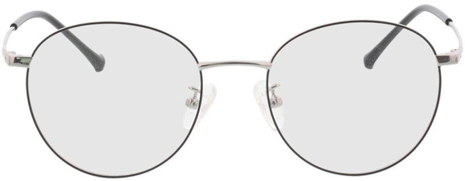Picture of glasses model Charlottenburg-schwarz/silber in angle 0