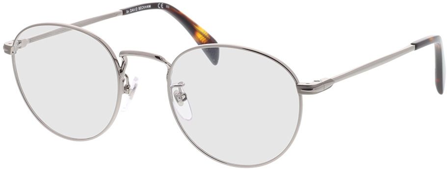 Picture of glasses model David Beckham DB 1015 6LB 50-21 in angle 330