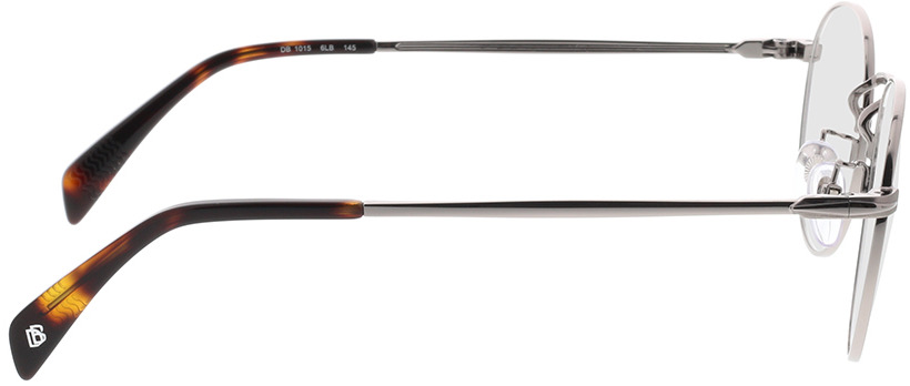 Picture of glasses model David Beckham DB 1015 6LB 50-21 in angle 90
