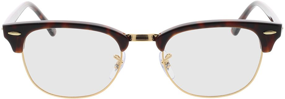 Picture of glasses model Ray-Ban Clubmaster RX5154 8058 51-21 in angle 0