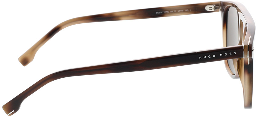 Picture of glasses model Boss BOSS 1127/S 05L 54-18 in angle 90