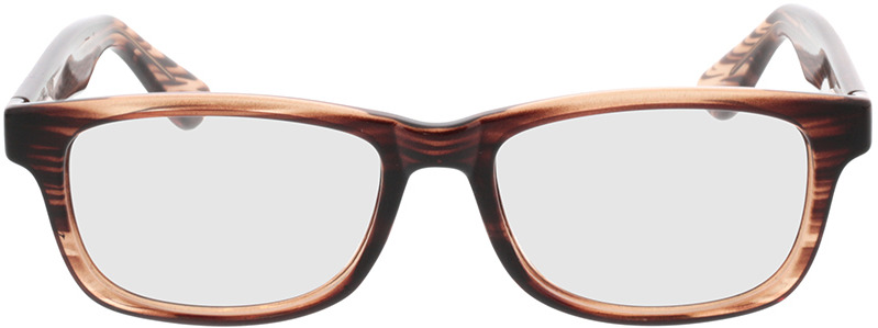 Picture of glasses model Dean Bruin horn in angle 0