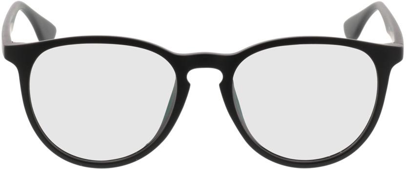 Picture of glasses model San Francisco mate/preto in angle 0