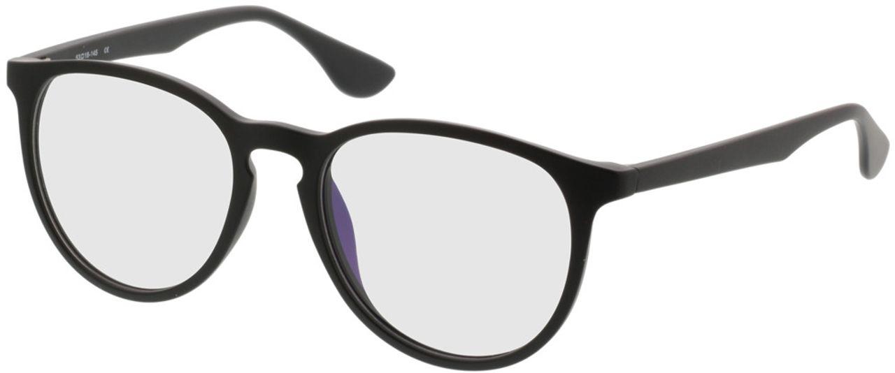 Picture of glasses model San Francisco matt/black in angle 330