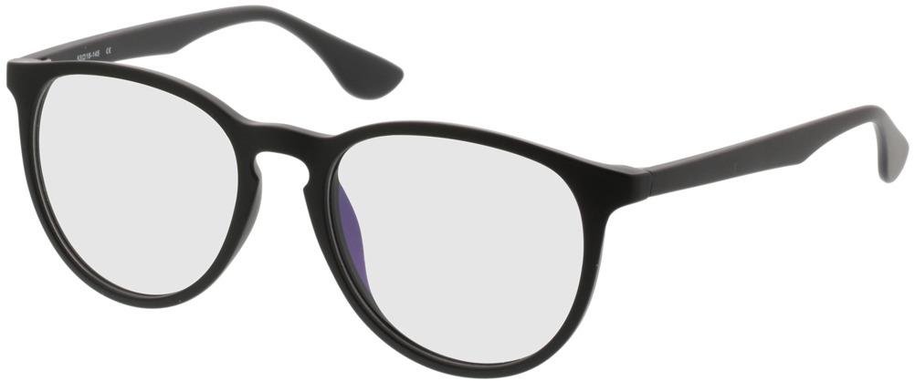 Picture of glasses model San Francisco mate/preto in angle 330