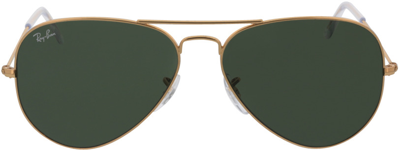 Picture of glasses model Ray-Ban Aviator RB3025 L0205 58-14 in angle 0