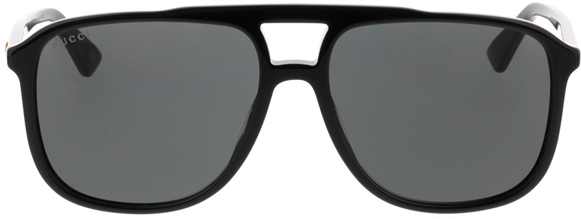 Picture of glasses model Gucci GG0262S-001 58-16 in angle 0