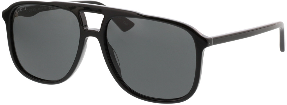 Picture of glasses model Gucci GG0262S-001 58-16 in angle 330