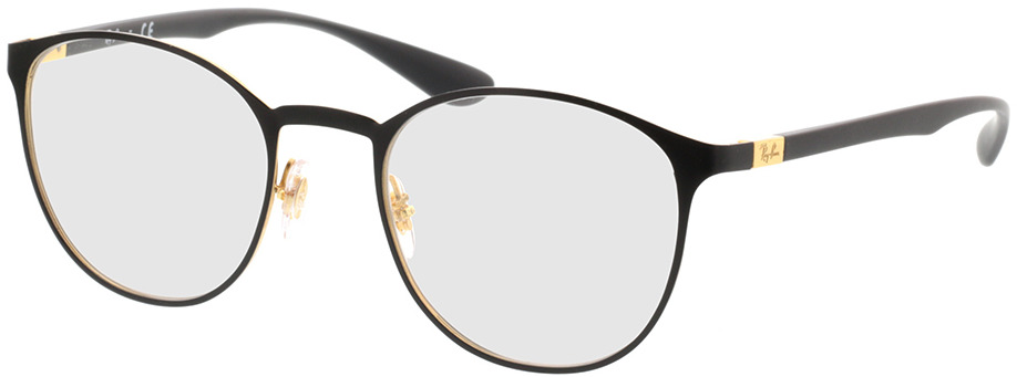 Picture of glasses model Ray-Ban RX6355 2994 50-20 in angle 330