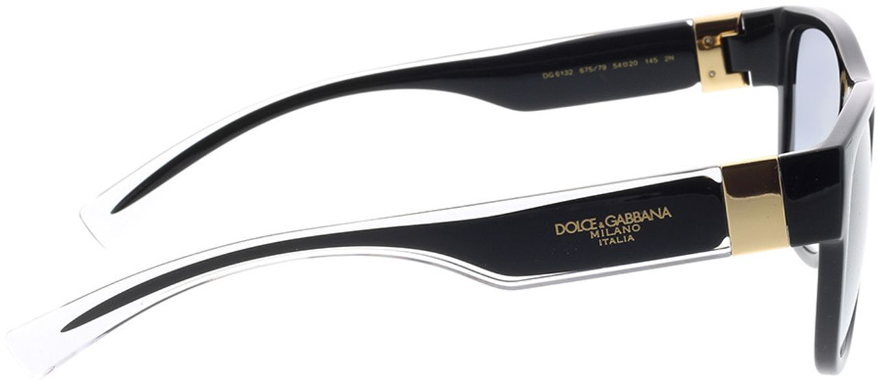 Picture of glasses model Dolce&Gabbana DG6132 675/79 54-20 in angle 90