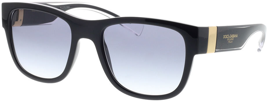 Picture of glasses model Dolce&Gabbana DG6132 675/79 54-20 in angle 330