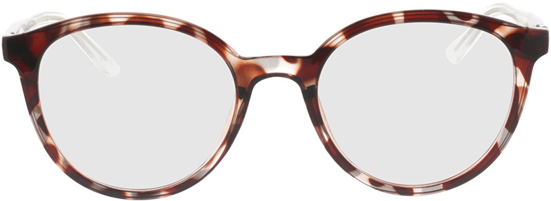 Picture of glasses model Rima-braun/transparent in angle 0