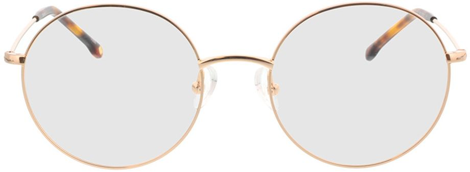 Picture of glasses model Bondy-gold in angle 0